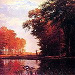 Albert Bierstadt - Bierstadt Albert Autumn Woods
