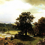 Bierstadt Albert Day-s Beginning, Albert Bierstadt