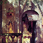 Sunlight and Shadow Study, Albert Bierstadt