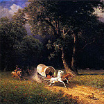Bierstadt Albert The Ambush, Albert Bierstadt