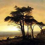 Bierstadt Albert California Coast, Albert Bierstadt