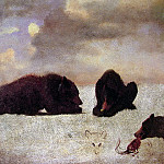 Grizzly Bears, Albert Bierstadt