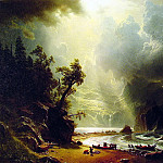 Albert Bierstadt - Pugest Sount on the Pacific Coast