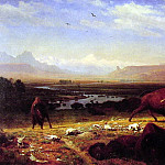 The Last of the Buffalo, Albert Bierstadt