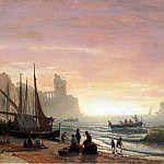 Albert Bierstadt - Bierstadt Albert The Fishing Fleet