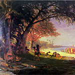 Albert Bierstadt - Bierstadt Albert The Landing of Columbus