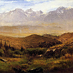Bierstadt Albert In the Foothills of the Mountais, Albert Bierstadt