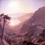 View of Donner Lake, Albert Bierstadt
