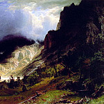 Storm in the Rocky Mountains, Albert Bierstadt