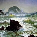 Albert Bierstadt - Seal Rock California