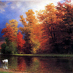 Bierstadt Albert On the Saco, Albert Bierstadt