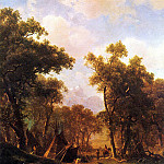 Albert Bierstadt - Bierstadt Albert Indian Encampment Shoshone Village