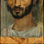 Metropolitan Museum: part 4 - Unknown - Portrait of a thin-faced, bearded man