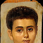 Metropolitan Museum: part 4 - Unknown - Portrait of the Boy Eutyches