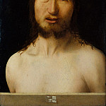 Metropolitan Museum: part 4 - Antonello da Messina (Italian, Messina ca. 1430–1479 Messina) - Christ Crowned with Thorns