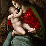 Metropolitan Museum: part 4 - Bachiacca (Italian, Florence 1494–1557 Florence) - Madonna and Child
