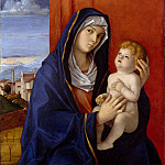 Metropolitan Museum: part 4 - Giovanni Bellini - Madonna and Child