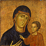 Berlinghiero – Madonna and Child, Metropolitan Museum: part 4