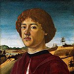 Biagio d'Antonio – Portrait of a Young Man, Metropolitan Museum: part 4
