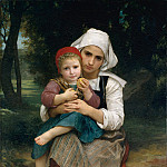 William Bouguereau – Breton Brother and Sister, Metropolitan Museum: part 4