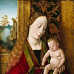 Metropolitan Museum: part 4 - Follower of Dieric Bouts - Virgin and Child