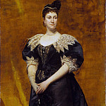 Metropolitan Museum: part 4 - Charles-Émile-Auguste Carolus-Duran - Mrs. William Astor (Caroline Webster Schermerhorn, 1831–1908)