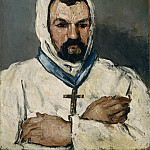 Metropolitan Museum: part 4 - Paul Cézanne - Antoine Dominique Sauveur Aubert (born 1817), the Artist's Uncle, as a Monk