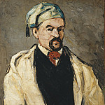 Metropolitan Museum: part 4 - Paul Cézanne - Antoine Dominique Sauveur Aubert (born 1817), the Artist's Uncle