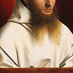 Metropolitan Museum: part 4 - Petrus Christus - Portrait of a Carthusian