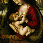 Bernardino dei Conti – Madonna and Child, Metropolitan Museum: part 4