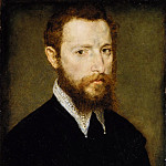 Metropolitan Museum: part 4 - Attributed to Corneille de Lyon - Portrait of a Man with a Pointed Collar