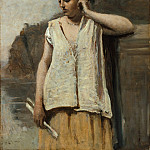 Camille Corot – The Muse: History, Metropolitan Museum: part 4