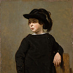 Camille Corot – Portrait of a Child, Metropolitan Museum: part 4