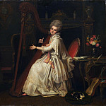 Metropolitan Museum: part 4 - Richard Cosway - Marianne Dorothy Harland (1759–1785), Later Mrs. William Dalrymple