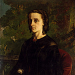 Madame de Brayer, Gustave Courbet