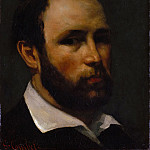 Portrait of a Man, Gustave Courbet