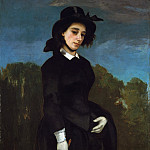 Woman in a Riding Habit (L'Amazone), Gustave Courbet