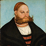 Metropolitan Museum: part 4 - Lucas Cranach the Elder - Portrait of a Man with a Gold-Embroidered Cap