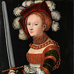 Metropolitan Museum: part 4 - Lucas Cranach the Elder - Judith with the Head of Holofernes