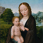 Metropolitan Museum: part 4 - Attributed to Simon Bening 1483/84–1561 Bruges) - Virgin and Child