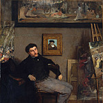 James-Jacques-Joseph Tissot (1836–1902), Edgar Degas