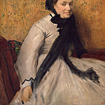 Metropolitan Museum: part 4 - Edgar Degas - Portrait of a Woman in Gray