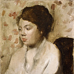 Portrait of a Young Woman, Edgar Degas