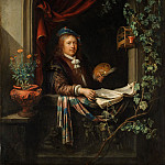 Gerrit Dou – Self-portrait, Metropolitan Museum: part 4