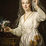 Metropolitan Museum: part 4 - François Hubert Drouais - Portrait of a Young Woman as a Vestal Virgin