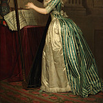 Rose Adélaïde Ducreux – Self-portrait with a Harp, Metropolitan Museum: part 4