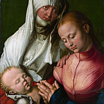Albrecht Dürer – Virgin and Child with Saint Anne, Metropolitan Museum: part 4