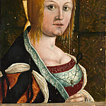 Metropolitan Museum: part 4 - Style of Albrecht Dürer - Portrait of an Italian Woman