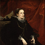 Metropolitan Museum: part 4 - Anthony van Dyck - Portrait of a Woman, Called the Marchesa Durazzo