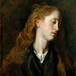 Study Head of a Young Woman, Anthony Van Dyck